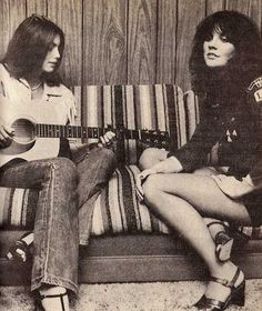 Great shots of great musicians. Emmylou and Linda Ronstadt, amazing,