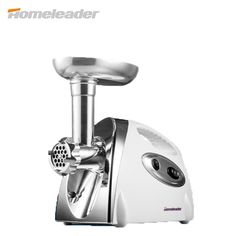 Homeleader 2016 New Electric Meat Grinder for Sausage Maker, Multi-function Mincer White K18-020, Free Shipping from Russia