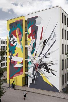 Daniel Man   Daim - SCALE, Urban WallArt Munich
