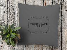 YOUR own TEXT on a cushion or fabric Art print with vintage style hipster graphic design, handprinted. The perfect personal gift for him! Colorful Interior Design, Colorful Interiors, Hipster Graphic Design, Pillow Quotes, Color Psychology, Modern Colors, Fabric Art, Accent Colors, Tool Design