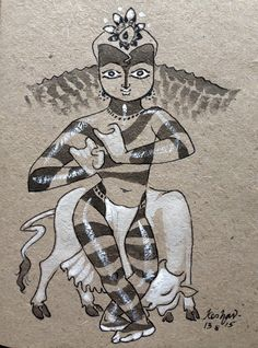 New forever series. #krishnafortoday #drawing