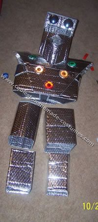 great costume using sun visors! No cardboard boxes!!!