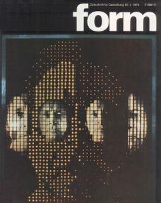 form N° 65. 1974. Cover: Hanswerner Klein. © Verlag form GmbH & Co. KG