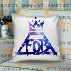 Sr3-fob Fall Out Boy Logo Cushion Pillow Case