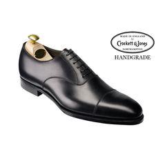 Lonsdale Black Calf, Men's Oxford Shoe | Crockett & Jones