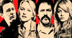 'Birdman' Poster with Michael Keaton and Emma Stone -- Director Alejandro Gonz&#225lez I&#241&#225rritu's 'Birdman' gets a comic book inspired poster that features cast members Edward Norton and Naomi Watts. -- http://www.movieweb.com/birdman-movie-2014-poster