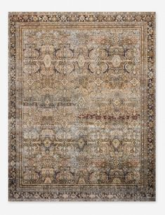 Sophisticated traditional patterns define this rug's timeless look, while a distressed finish gives it a chic vintage-inspired twist. The contrasting border really pops in modern rooms filled with natural light, and the low pile makes it an easy piece to Modern Room, Rug Styles, Inexpensive Home Decor, Persian Style Rug, Rug Guide, Rugs, Modern Victorian, Favorite Lighting, Vintage Chic