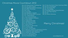 Christmas Movie Countdown!
