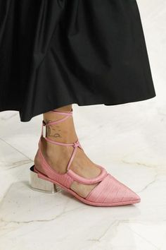 A detailed look at the newest collection of shoes from Salvatore Ferragamo