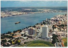 Independence Building and Lagos Harbour (1974) - with view to the undeveloped mainland!!
