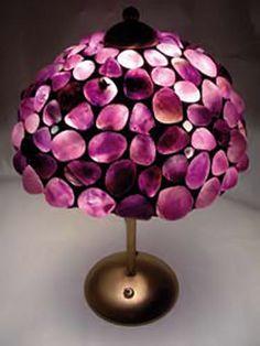 Amethyst Lamp by Gemoholic