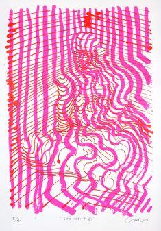 Carl Krull – Sediment V A. Serigrafi, 50 x 70cm. Oplag: 10. Pris: 2.400 kr.
