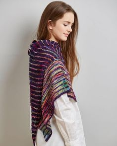 Interview with Louise Zass-Bangham on LoveKnitting Blog - Knitting pattern is Affinity shawl available in her new ebook on LoveKnitting