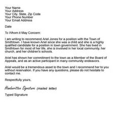 1000+ images about Recommendation letters on Pinterest | Reference ...