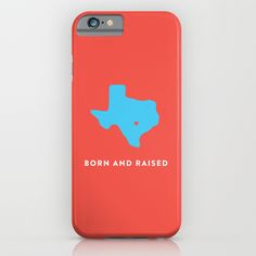 Texas+iPhone+&+iPod+Case+by+Hunter+Ellenbarger+-+$35.00