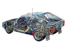 Lancia Delta S4 Group B Rally Car