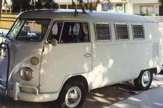 '65 VW Bus by dan meyers, via Flickr - looks exactly like the one my dad had when I was a kid