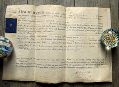 Victorian English legal document from 1870 on by MaisonMaudie