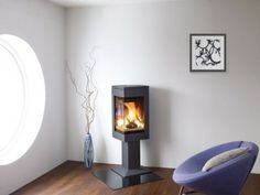 Woodburners, Wood & Multifuel Stoves | Bradley Stoves Sussex | Quadro 1 Woodburning stoves | http://www.woodburners.co.uk/_-Quadro-1-Woodburning-stoves-_/product/?pid=80424