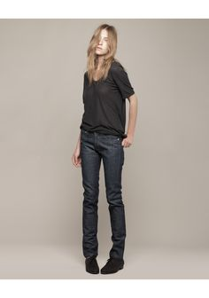 A.P.C. / Raw Petit Standard Jean (must feel tight on purchase, stretches out)