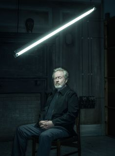 """Science fiction is a very special form of auditorium,"" Ridley Scott says. ""It's a theater, a box, within which anything goes—but you'd better draw up the guidelines before you begin."""