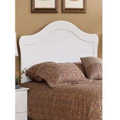Perdue 7031S Crystal White Twin Headboard | Hope Home Furnishings and Flooring