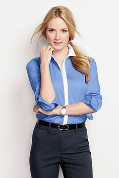 Women's Stretch Shirt from Lands' End