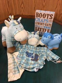 Buckaroo Bonanza Western Baby Boy Box - Ponies and Boots