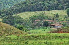 Fazenda antiga em Belmiro Braga