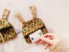 Coin Purse monster | Zé Coin glutton | Giraffe print zippered purse | funny wallet | coin pouch | card case | Giraffe gift unisex wallet Love Monster, Funny Birthday Gifts, Welcome To The Family, Giraffe Print, Soft Dolls, Baby Bibs, Funny Kids, Gifts For Kids, Personalized Gifts