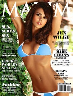 Maxim South Africa – March 2015-P2P Free Download