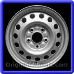 Chrysler Sebring 1995 Wheels & Rims Hollander #65743  #Chrysler #Sebring #ChryslerSebring #1995 #Wheels #Rims #Stock #Factory #Original #OEM #OE #Steel #Alloy #Used