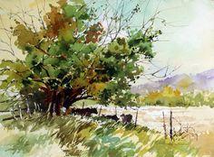 Rural Art, Carl Purcell, watercolor