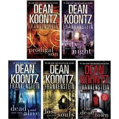 Dean Koontz ~ Frankenstein Series Books 1-5  Awesome story