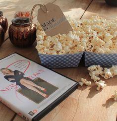 Maak eens zelf je popcorn voor een gezellige filmavond :)