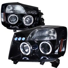 The Spec-D Pair Headlights fit the 2005 Nissan Titan. Get proper fitment, easy installation and quality Headlights for your Nissan. Transform your Titan for the ultimate driving experience.AutoLightPros.com is backed by a Manufacturer's Warranty and offers safe and secure shipping. You will shop with confidence when you go with the Pros!