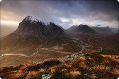 Glens Coe, Scotland.