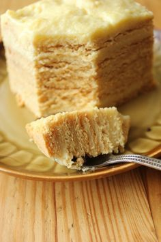 Delicious Honey Cake / Doskonalec (in Polish) Polish Desserts, Polish Recipes, Baking Recipes, Cake Recipes, Dessert Recipes, Polish Cake Recipe, My Favorite Food, Favorite Recipes, Delicious Desserts