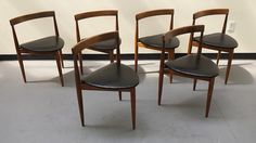 Six Three Legged Chairs by CATALYSTxo on Etsy
