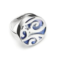 Mattioli Siriana Collection - White Gold Blue Mother of Pearl - $1,800