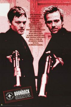 Boondock Saints Shepherds Static Movie Poster 24x36
