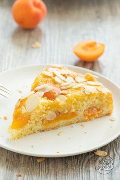 Sweet Recipes, Cake Recipes, Apricot Cake, Nutella, 40th Birthday Cakes, Natural Yogurt, Food Cakes, Love Cake, Macaron