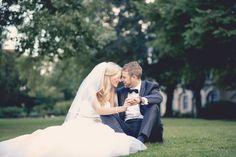 Brautpaarshooting im Schlosspark Hochzeitsfotograf - Maik Molkentin-Grote - www.4everwedding.de
