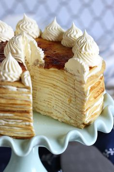 1000+ ideas about Crepe Cake on Pinterest | Pancakes, Crepes and ...