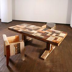 Scrap Wood Art   TAG piet hein eek , scrap wood , Table