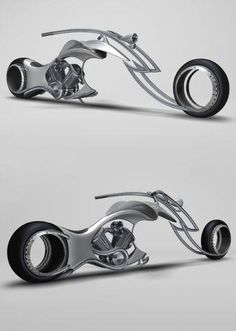 """Motorcycles with hubless wheels may sound futuristic at the moment, but designers are striving to make """"spoke-less bikes"""" a reality. Designer Alexander Kotlyarevsky has dreamed up a custom motorcycle that is spoke-less and presents a very neat and clean look. The new 'Swordfish' concept bike by this Italian designer serves up a curved body with a sleek design running on hub-less wheels. Pretty cool, but would it be practical?"""