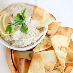 Baba Ghanoush, a recipe from the ATCO Blue Flame Kitchen.