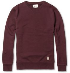 NN.07 Lenny Loopback Cotton-Jersey Sweatshirt | MR PORTER