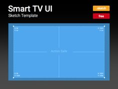 A Sketch template I created for a TV UI project.