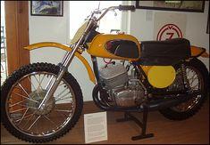 My second mx bike - 1972 CZ 400
